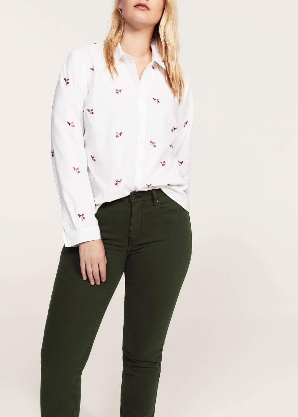 Slim-fit julia jeans | VIOLETA BY MANGO