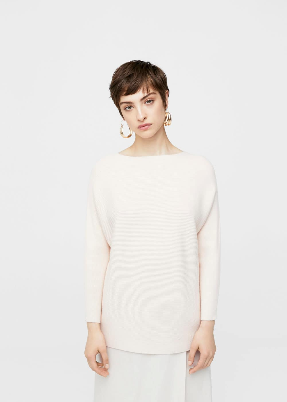Dolman-sleeve sweater | MANGO