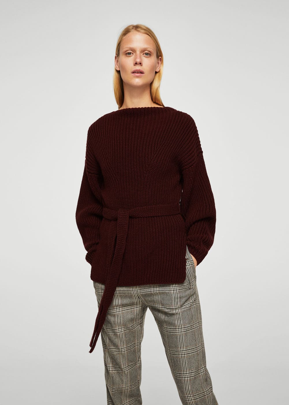 Bow knit sweater | MANGO