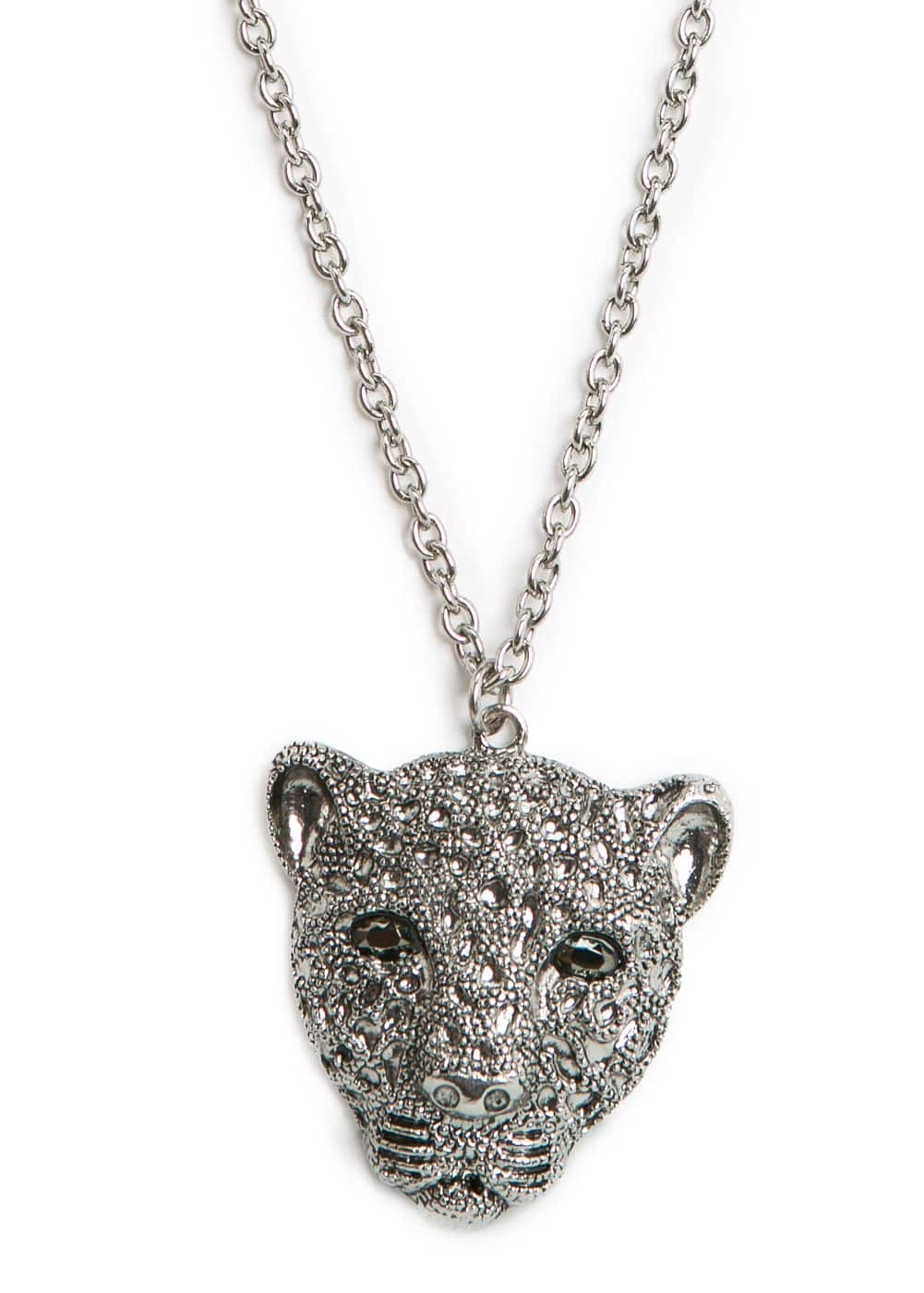 Strass tiger necklace | MANGO