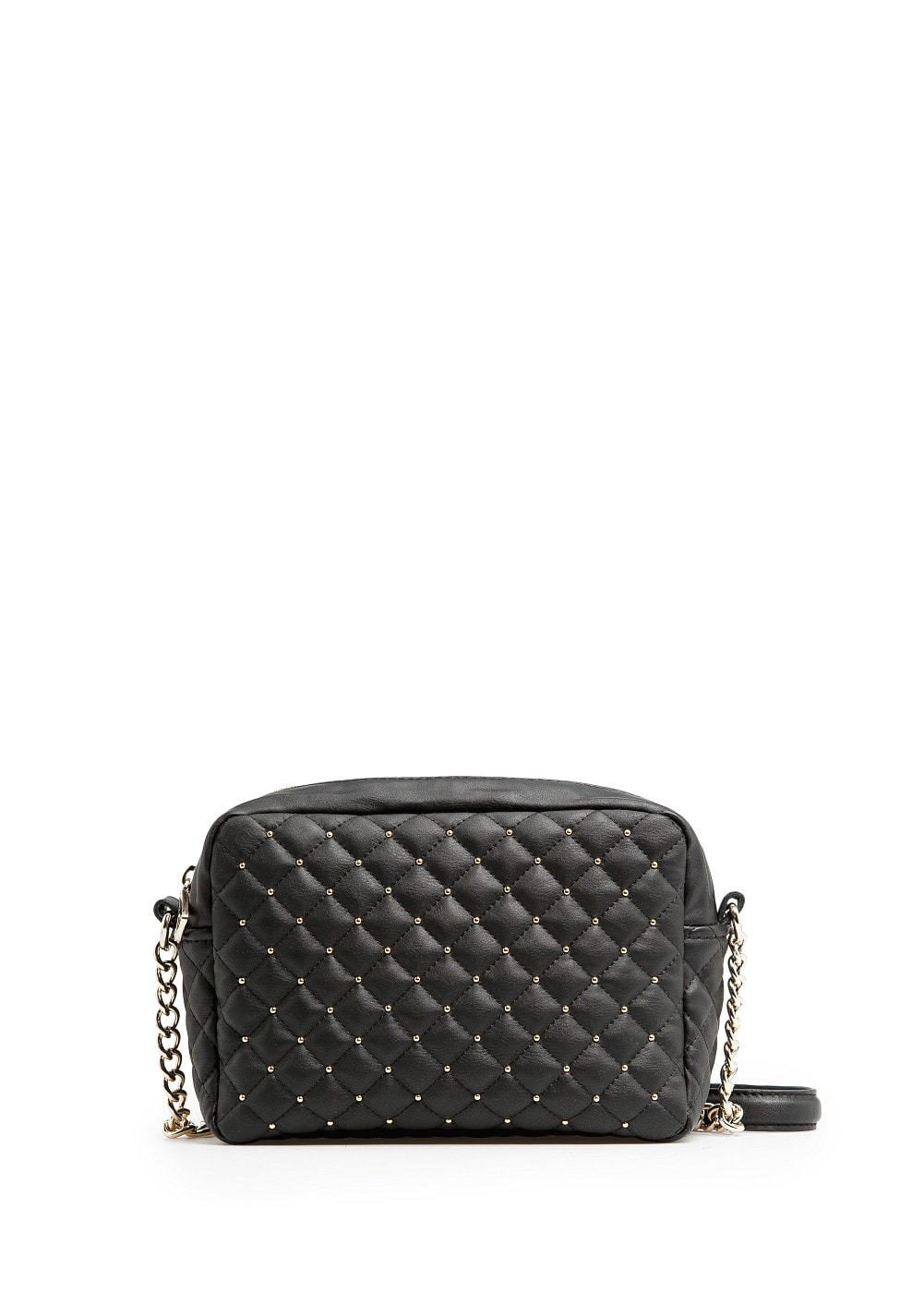 Studded quilted bag | MANGO