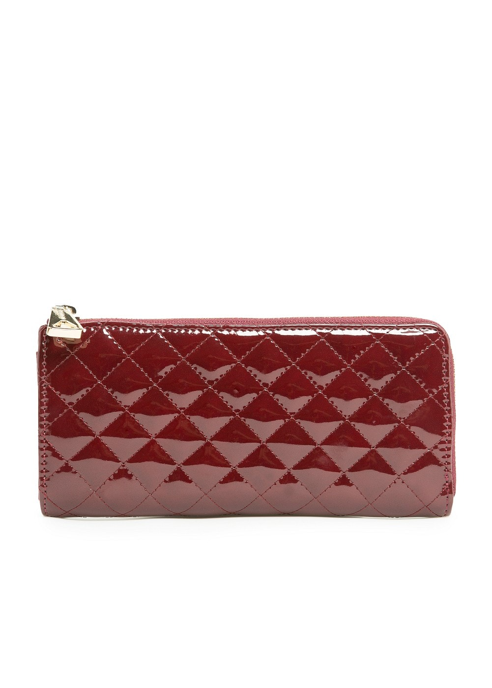 Quilted patent wallet | MANGO