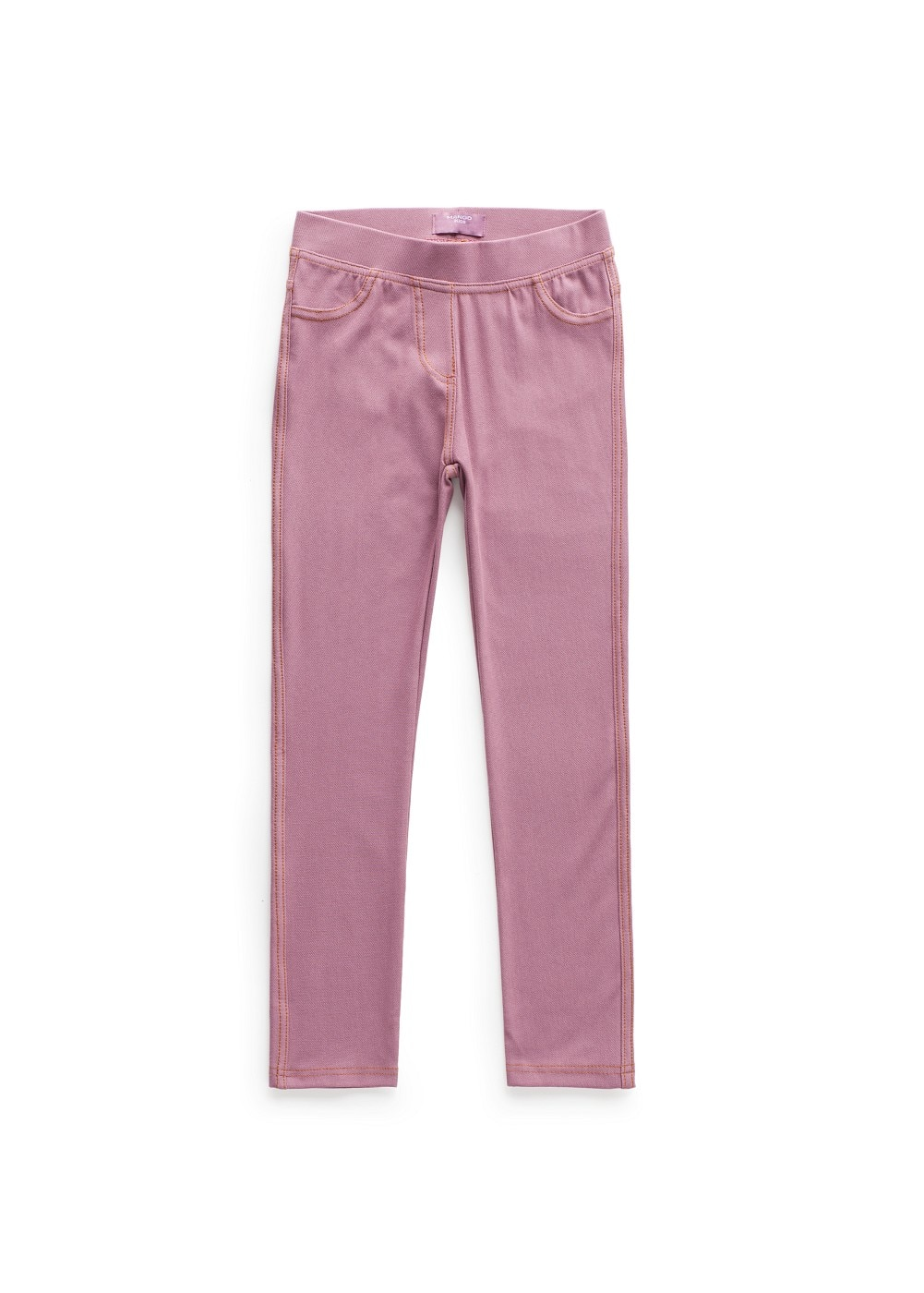 Elastic waist jeggings | MANGO KIDS
