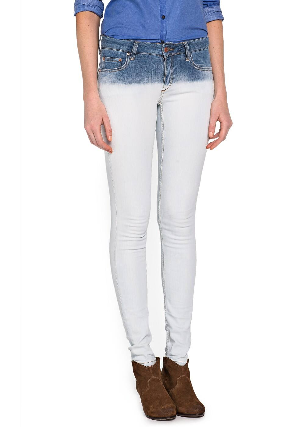 Super slim-fit dye jeans | MANGO