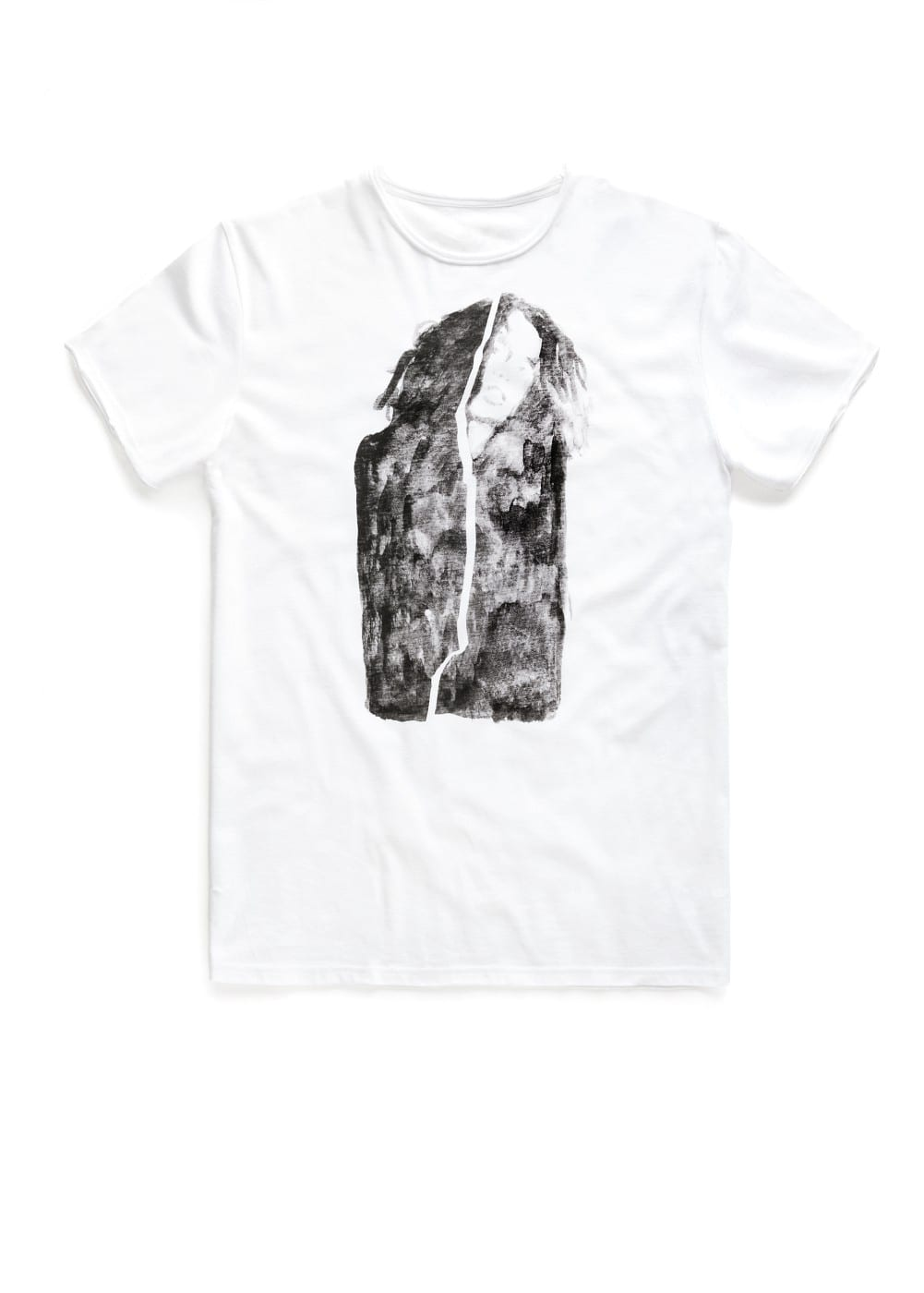 Girl drawing-print t-shirt | MANGO MAN
