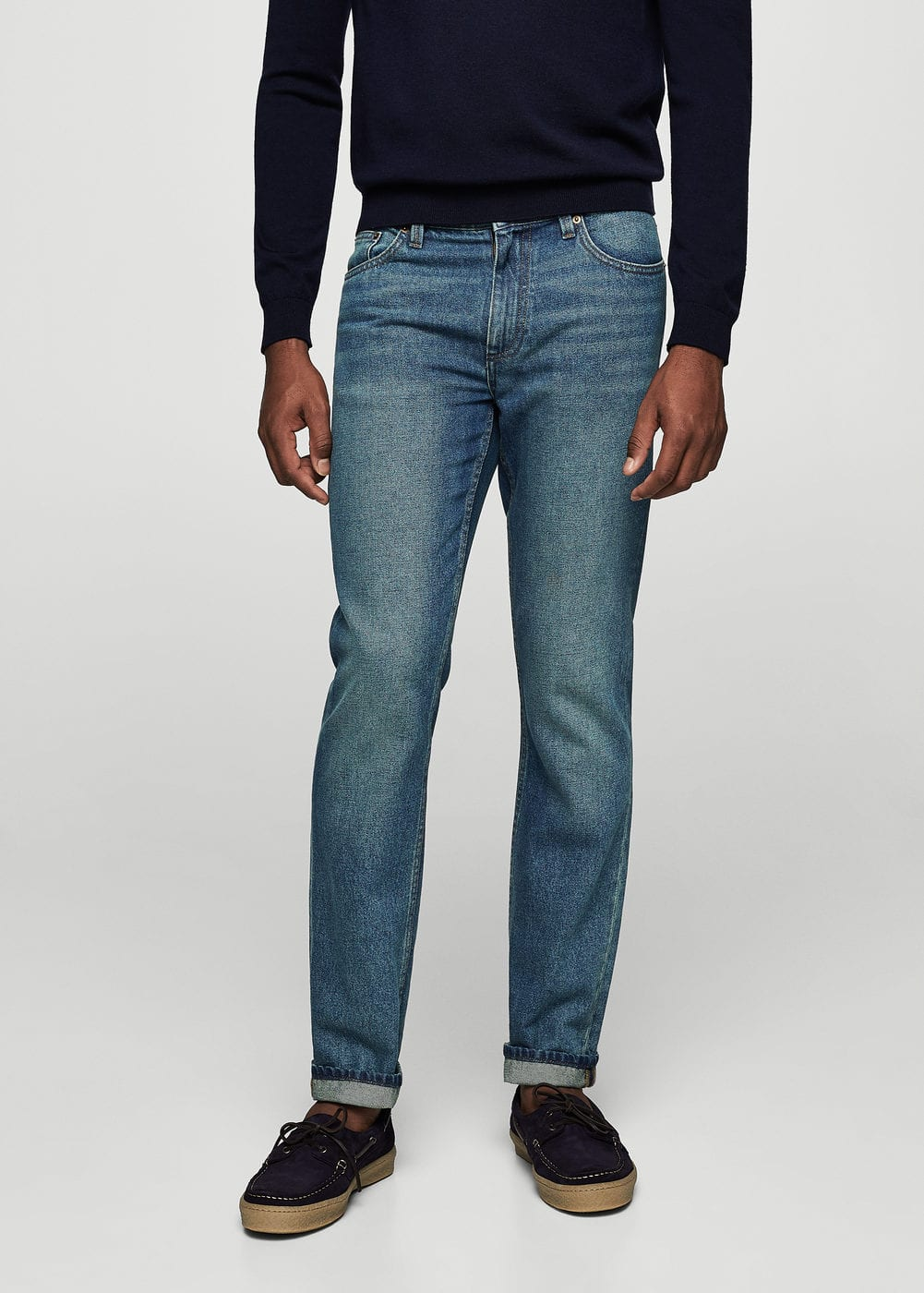 Straight fit vintage jeans bob | MANGO MAN