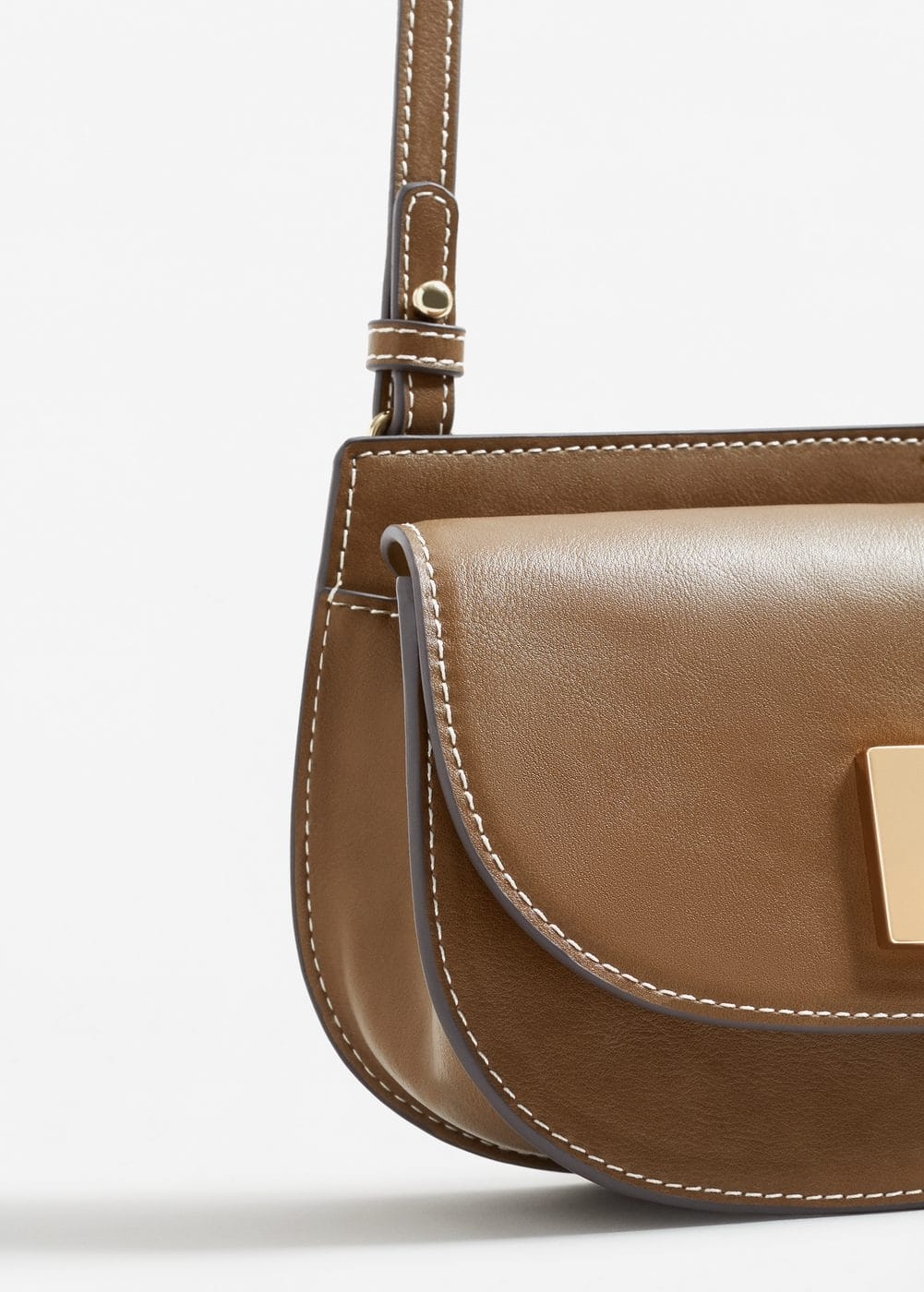 Appliqué cross-body bag | MANGO