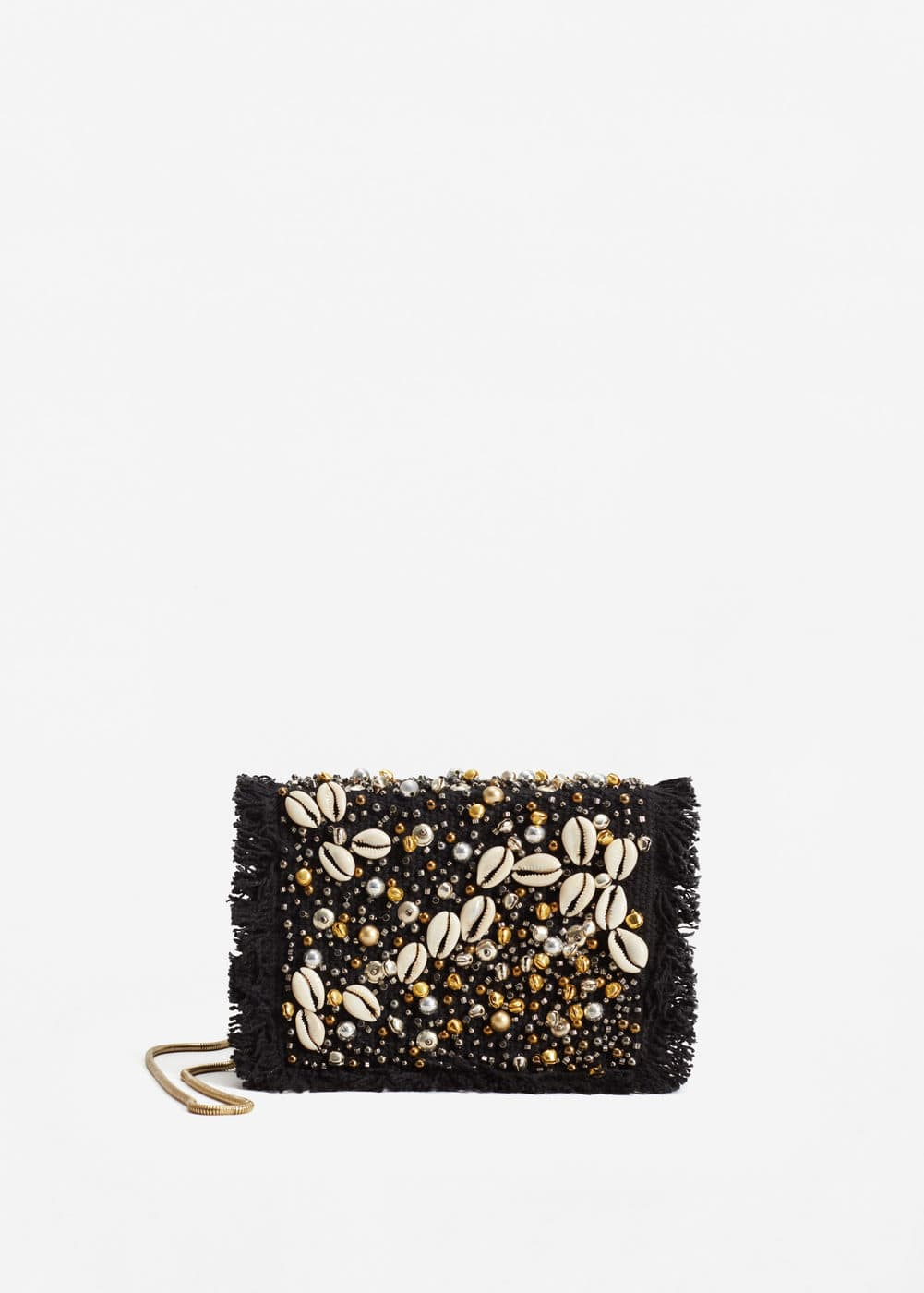 Beaded cross-body bag | MANGO
