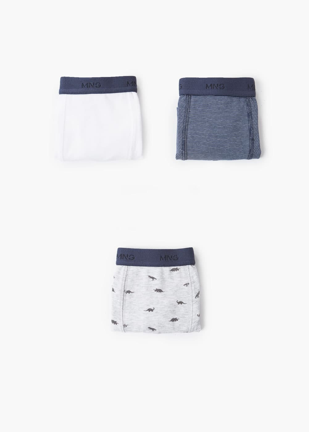 Mixed 3 boxer pack | MANGO