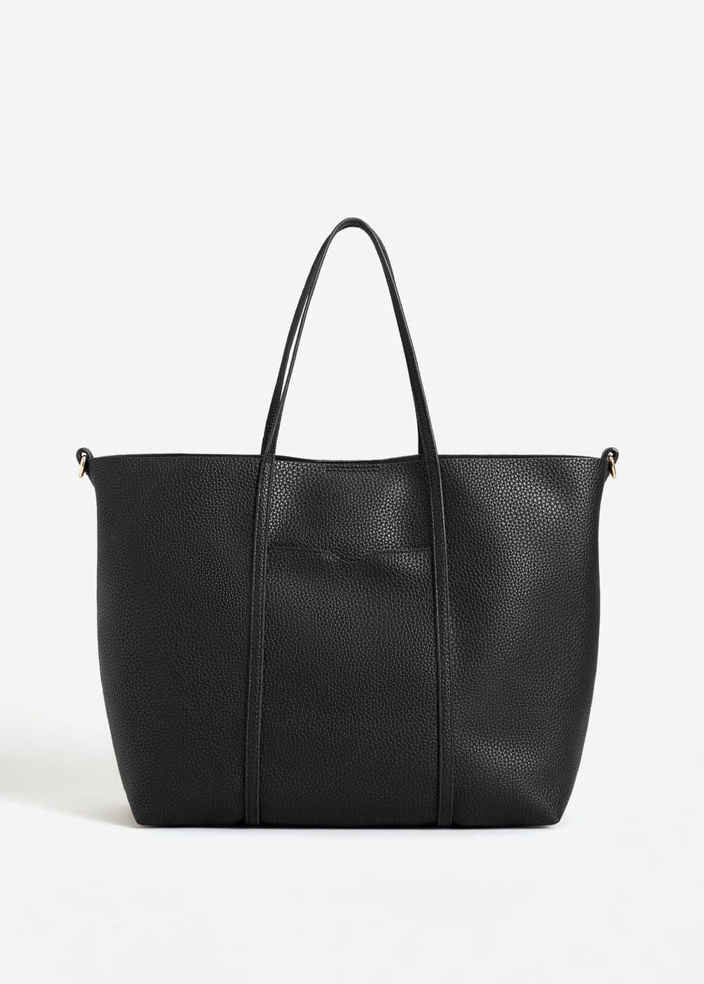Pebbled shopper bag | MNG
