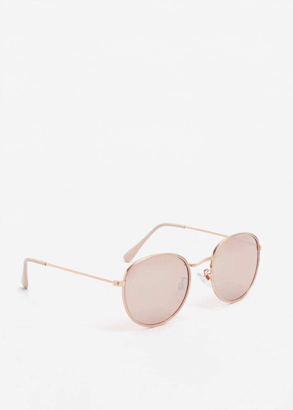Rounded frame sunglasses | MANGO