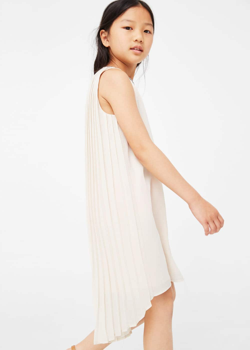 Crystal beaded dress | MANGO