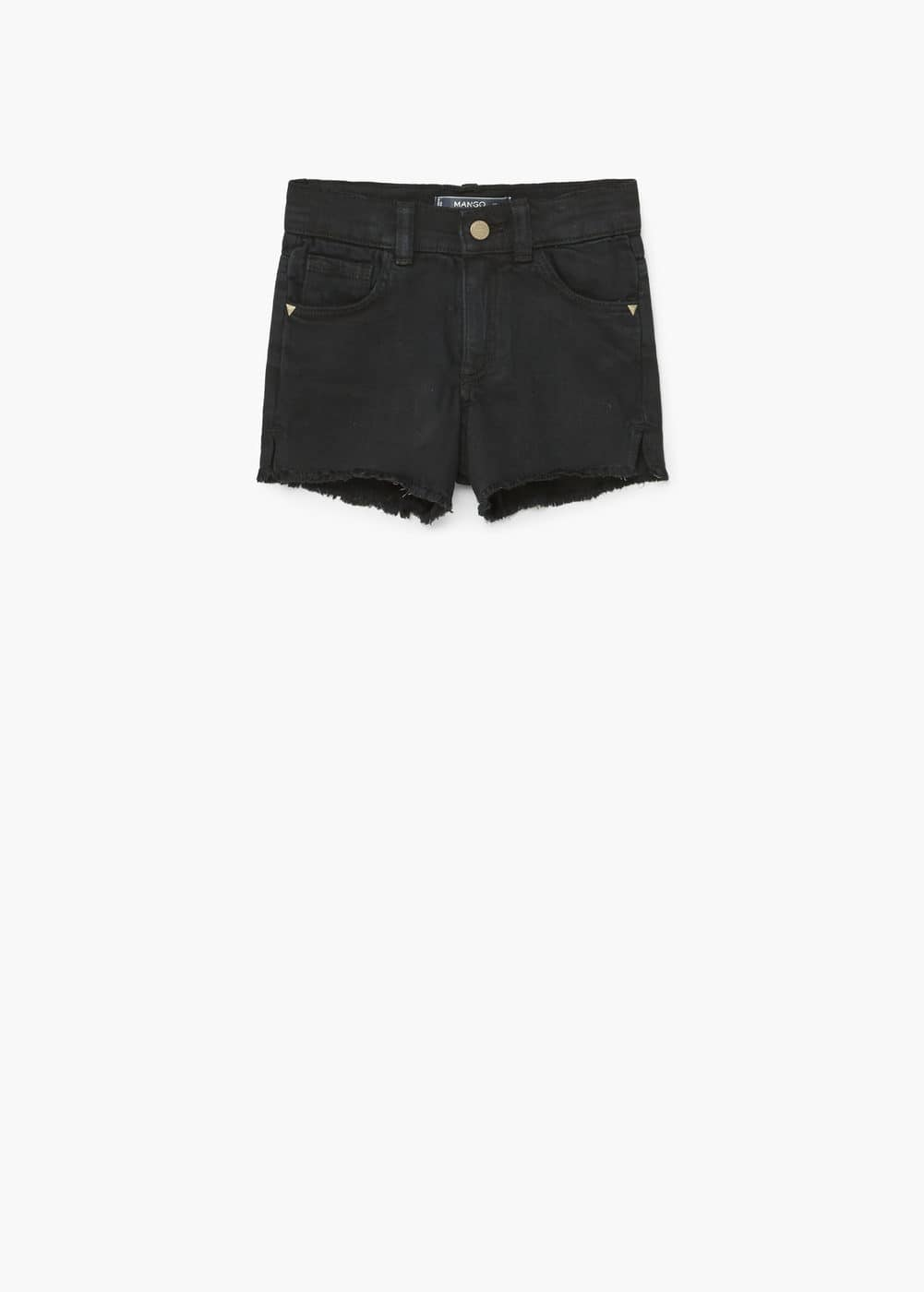 Shorts aus baumwoll-stretch | MANGO KIDS