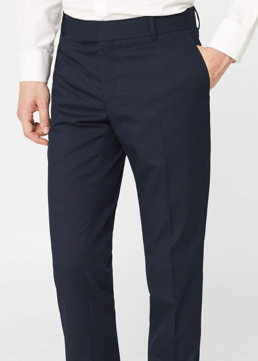 Pantalón traje super slim fit | MANGO