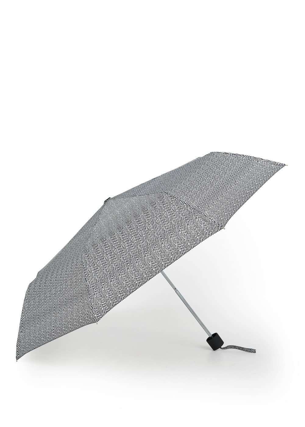Herringbone print umbrella | MANGO