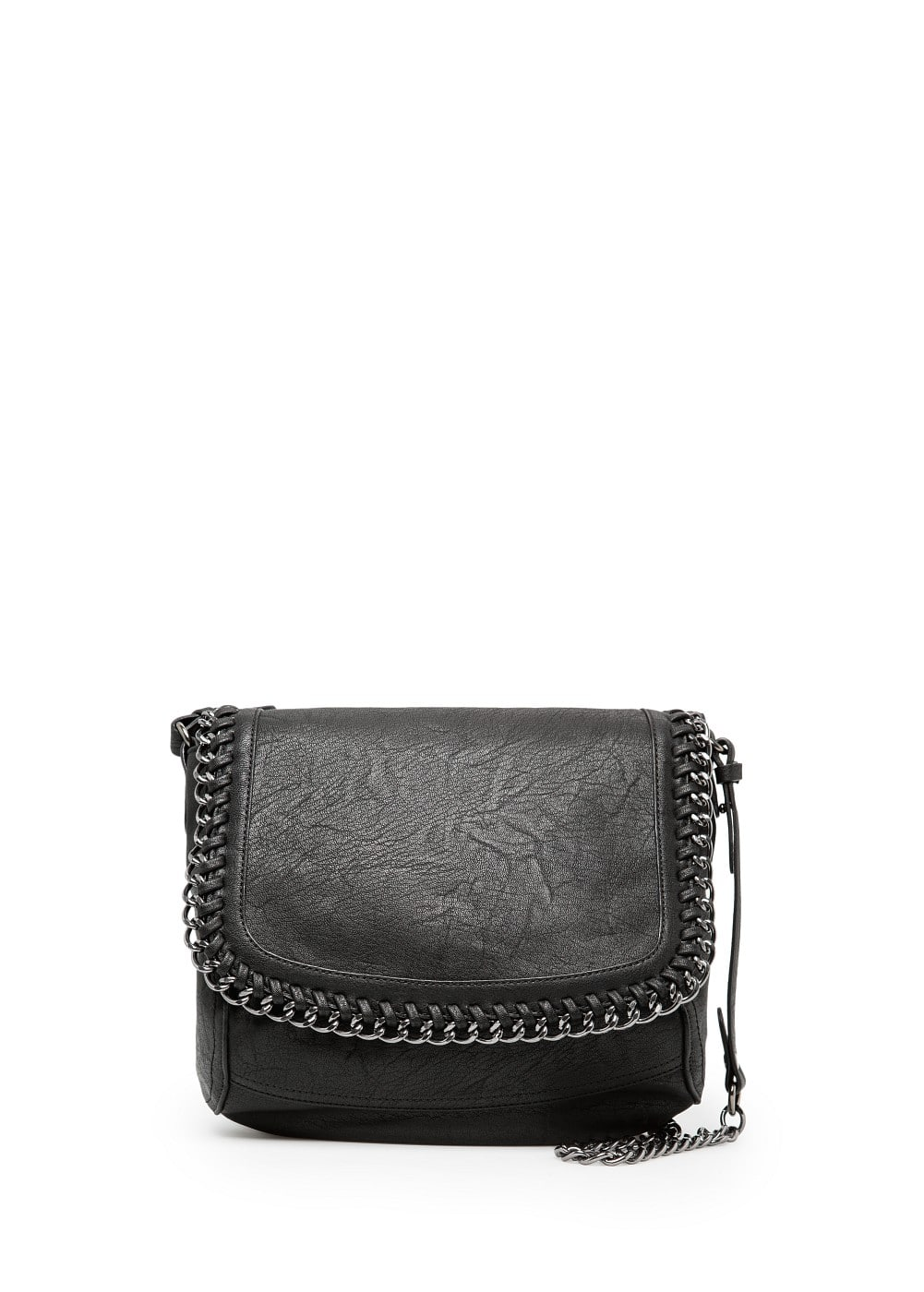 Chain edge shoulder bag | MANGO