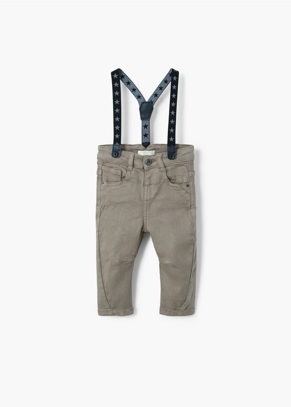 Cotton trouser with braces | MANGO