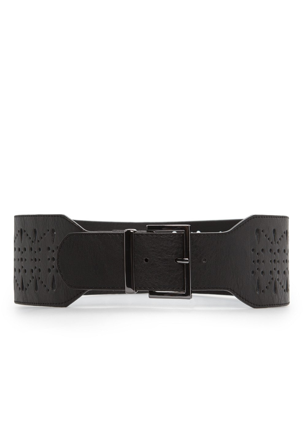 Drilled design sash belt | MANGO