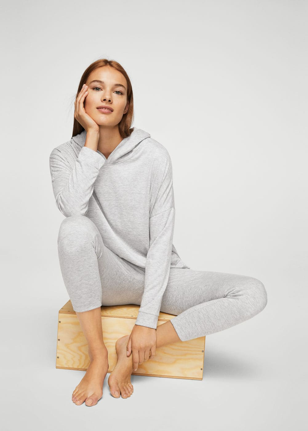 Relaxed hoodie | MANGO