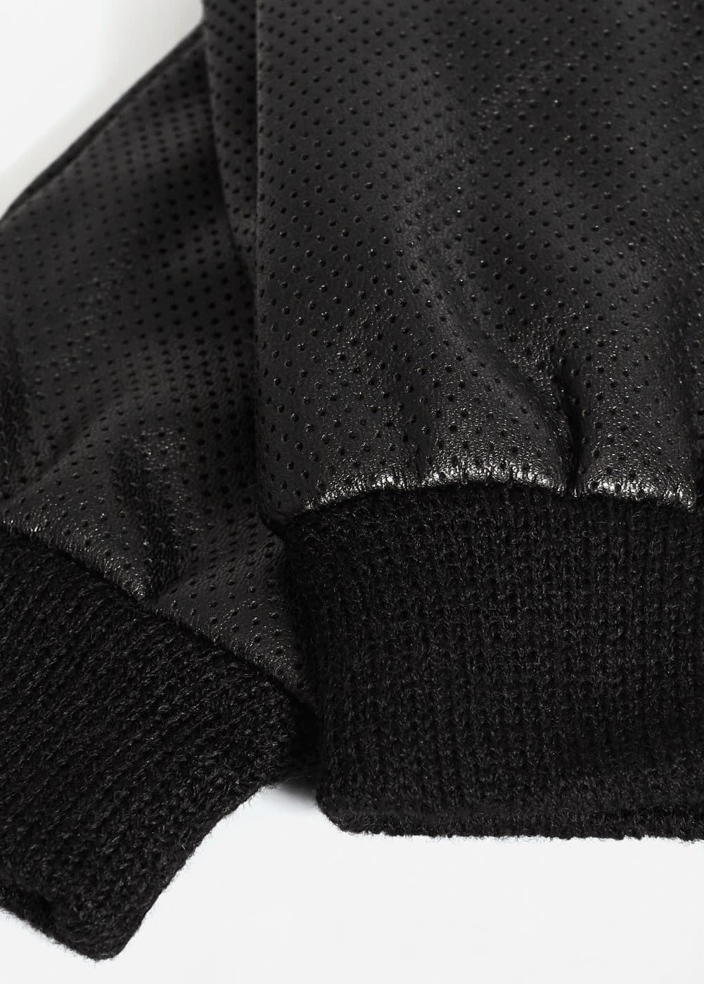 Laser-cut gloves | MANGO