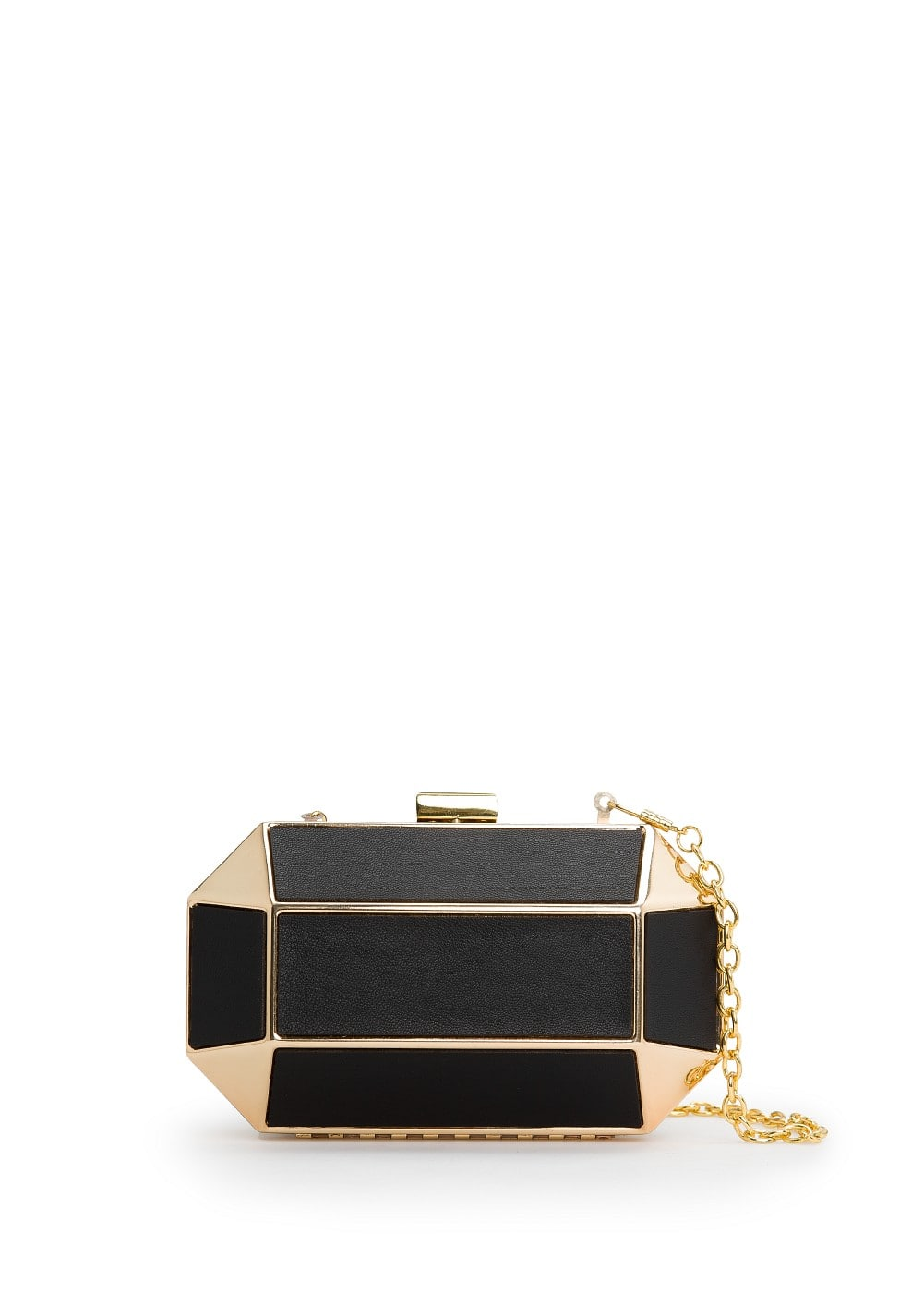 Geometric box clutch | MANGO