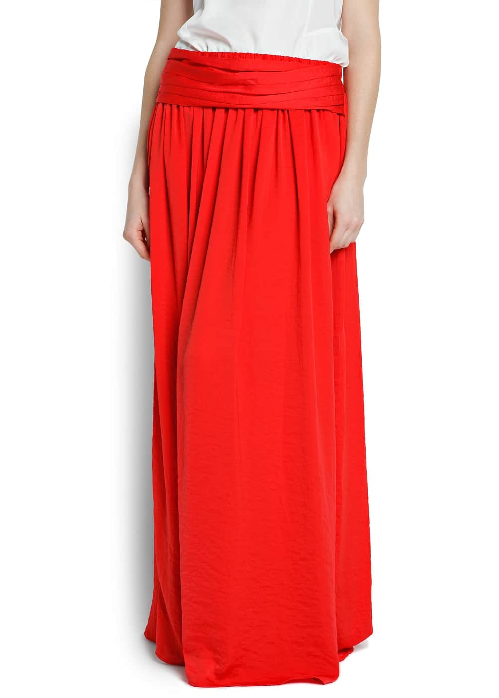 Sash long skirt | MANGO
