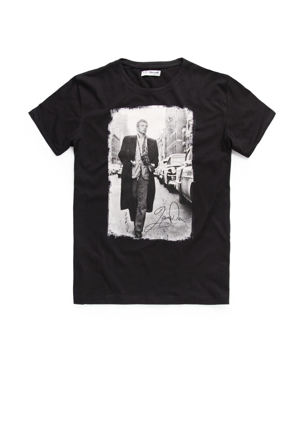 James dean-print t-shirt | MANGO MAN