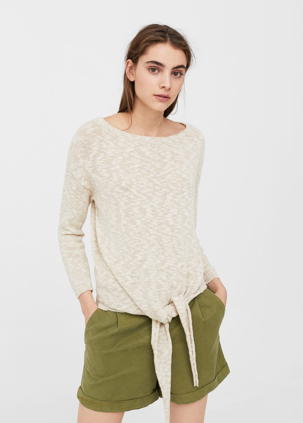 Knot detail sweater | MNG
