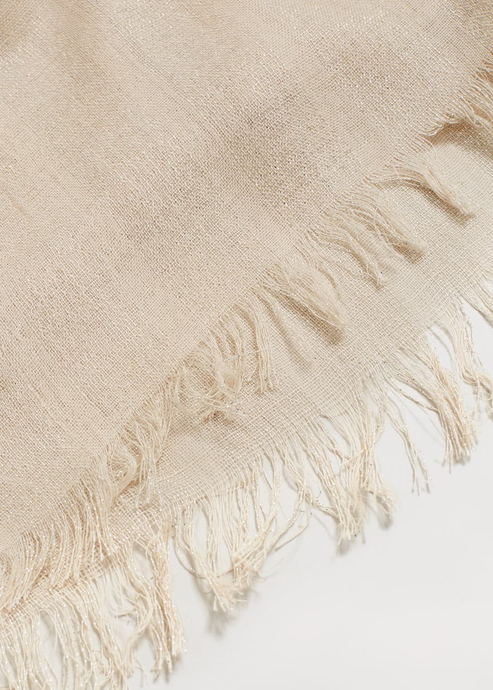 Metal thread scarf | VIOLETA BY MANGO
