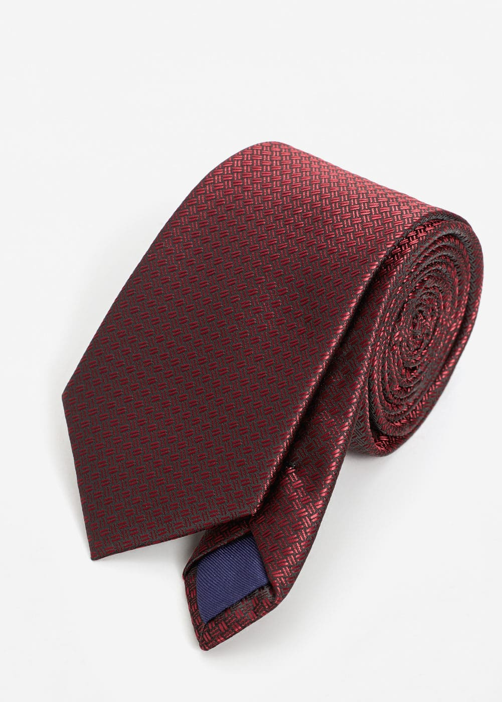 Patterned tie | MANGO