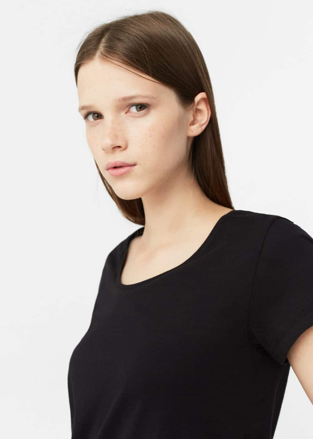 Organic cotton t-shirt | MANGO