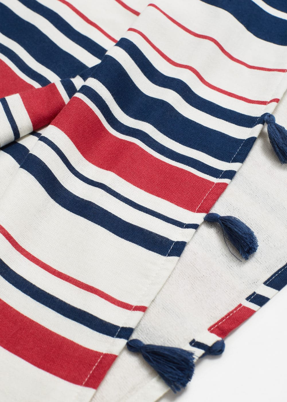 Striped pareo towel | MANGO
