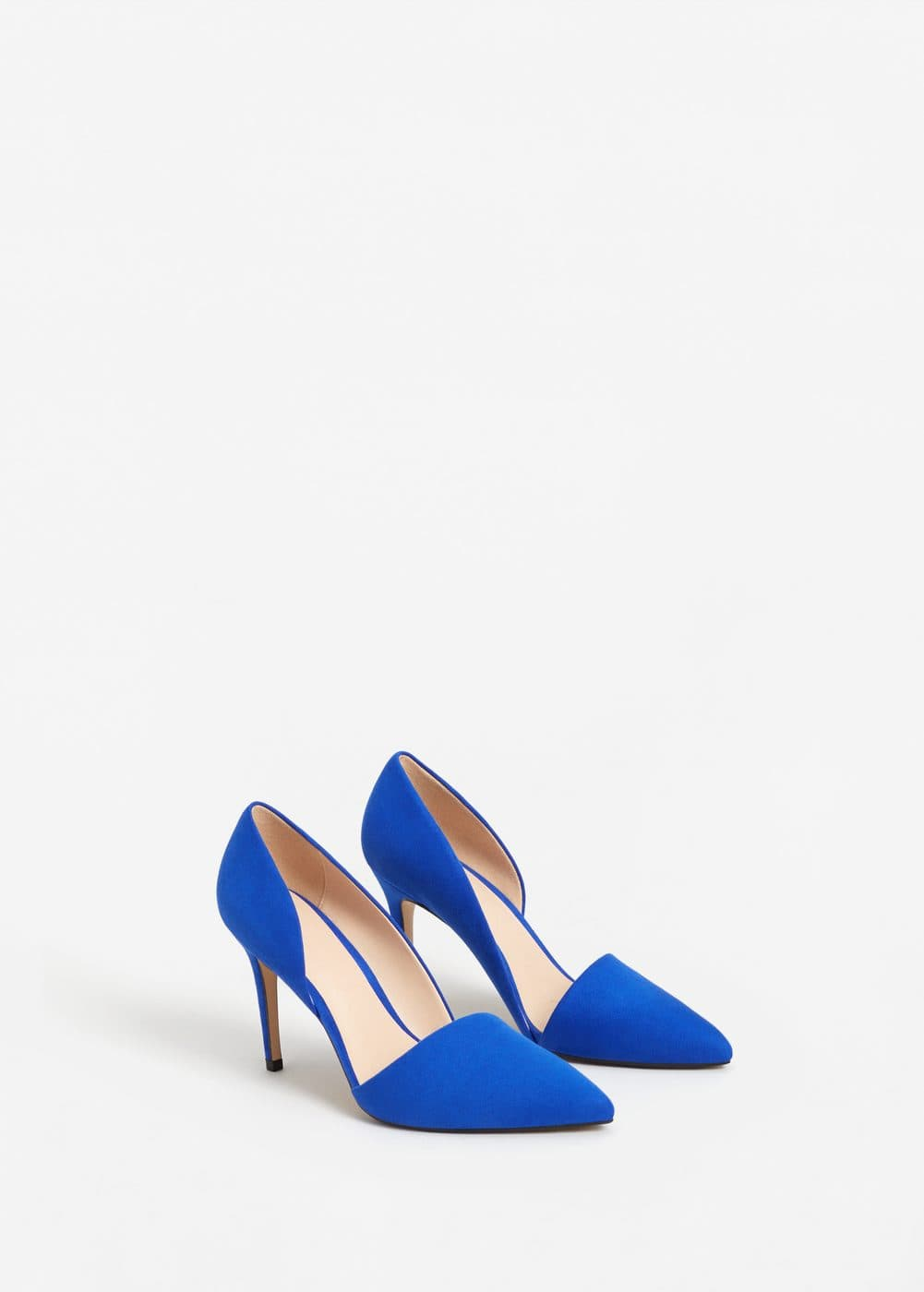 Asymmetric stiletto shoes | MANGO
