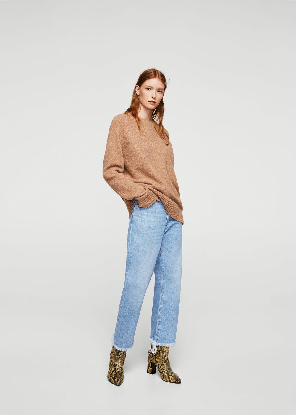 Jeans straight sea | MANGO