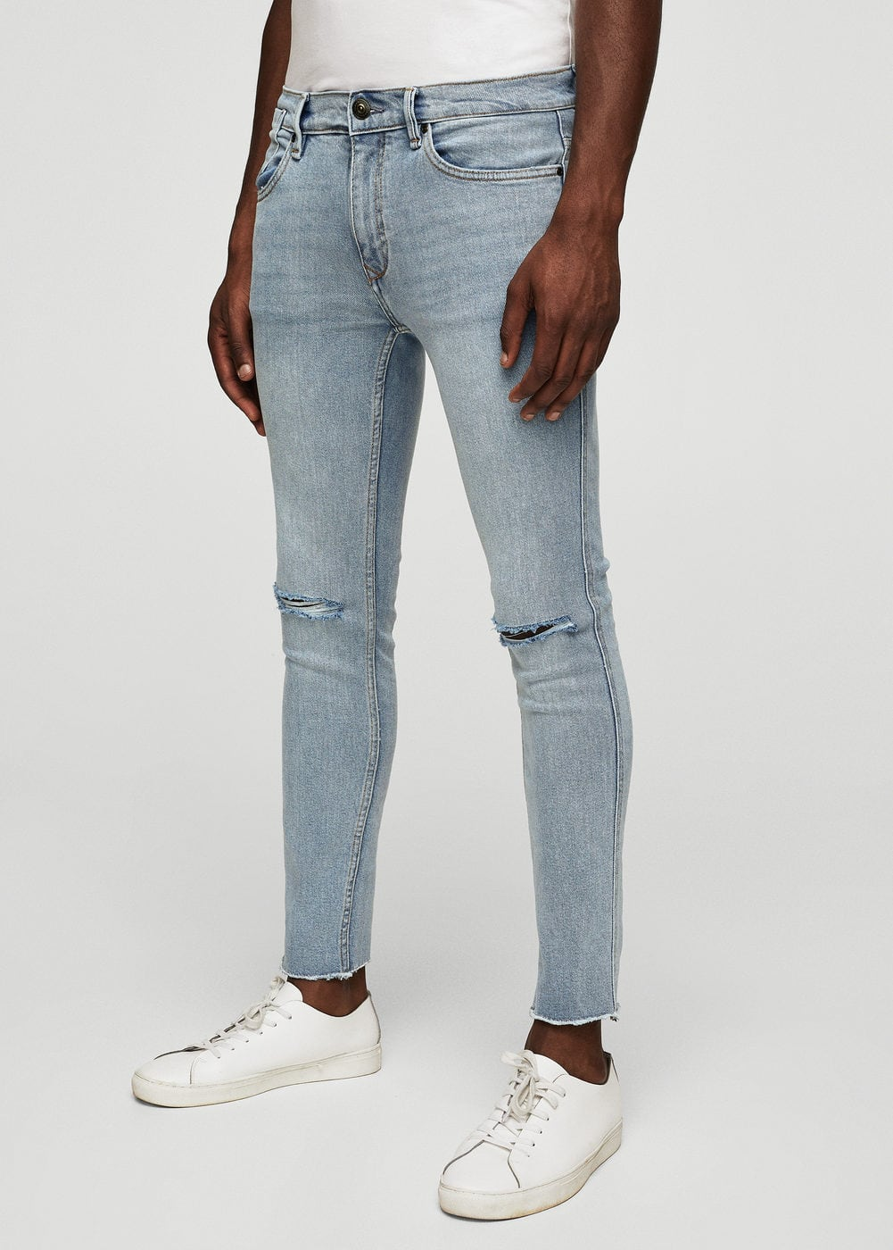 Skinny ripped dylan jeans | MANGO