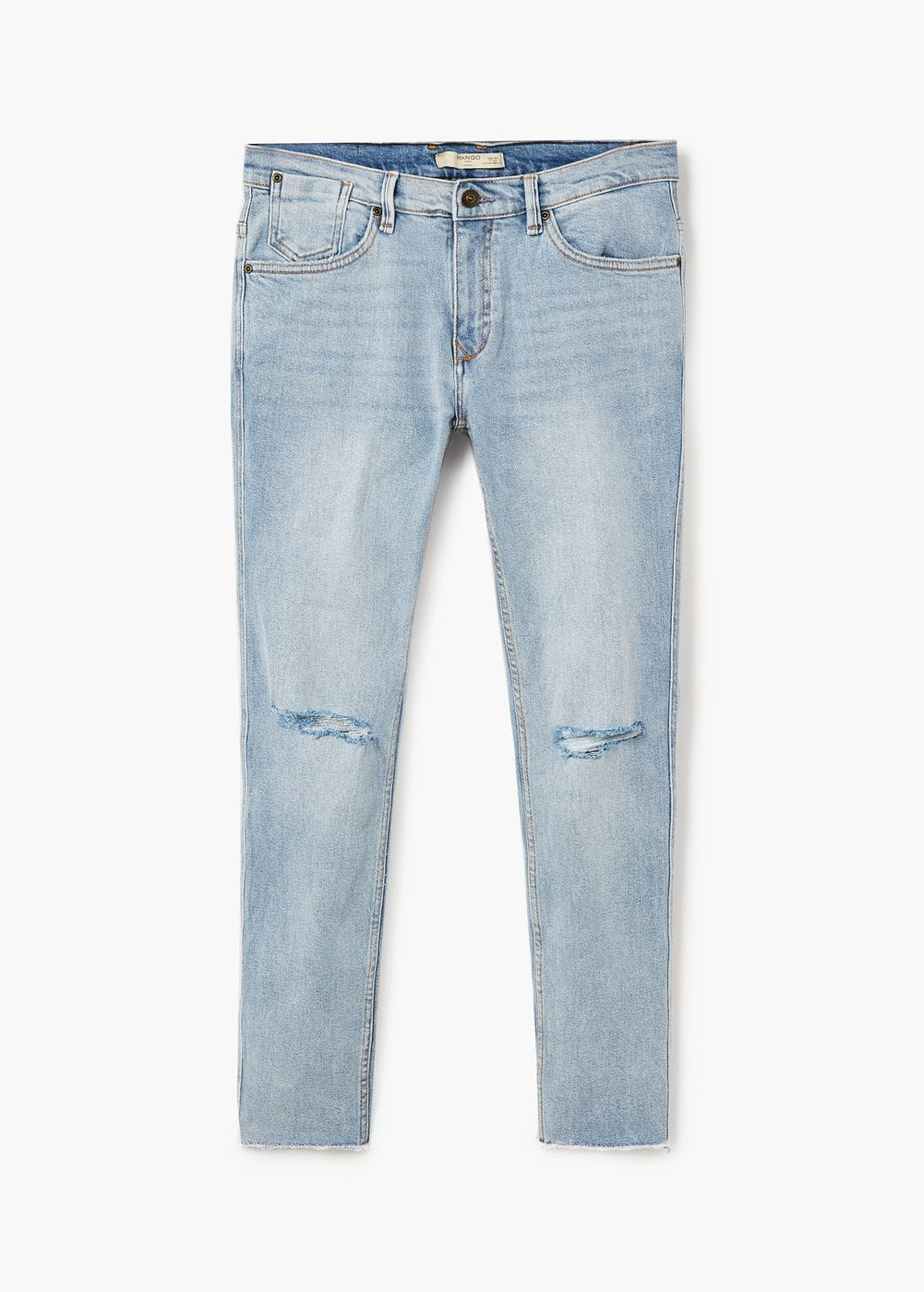 Jeans dylan skinny rotos | MANGO