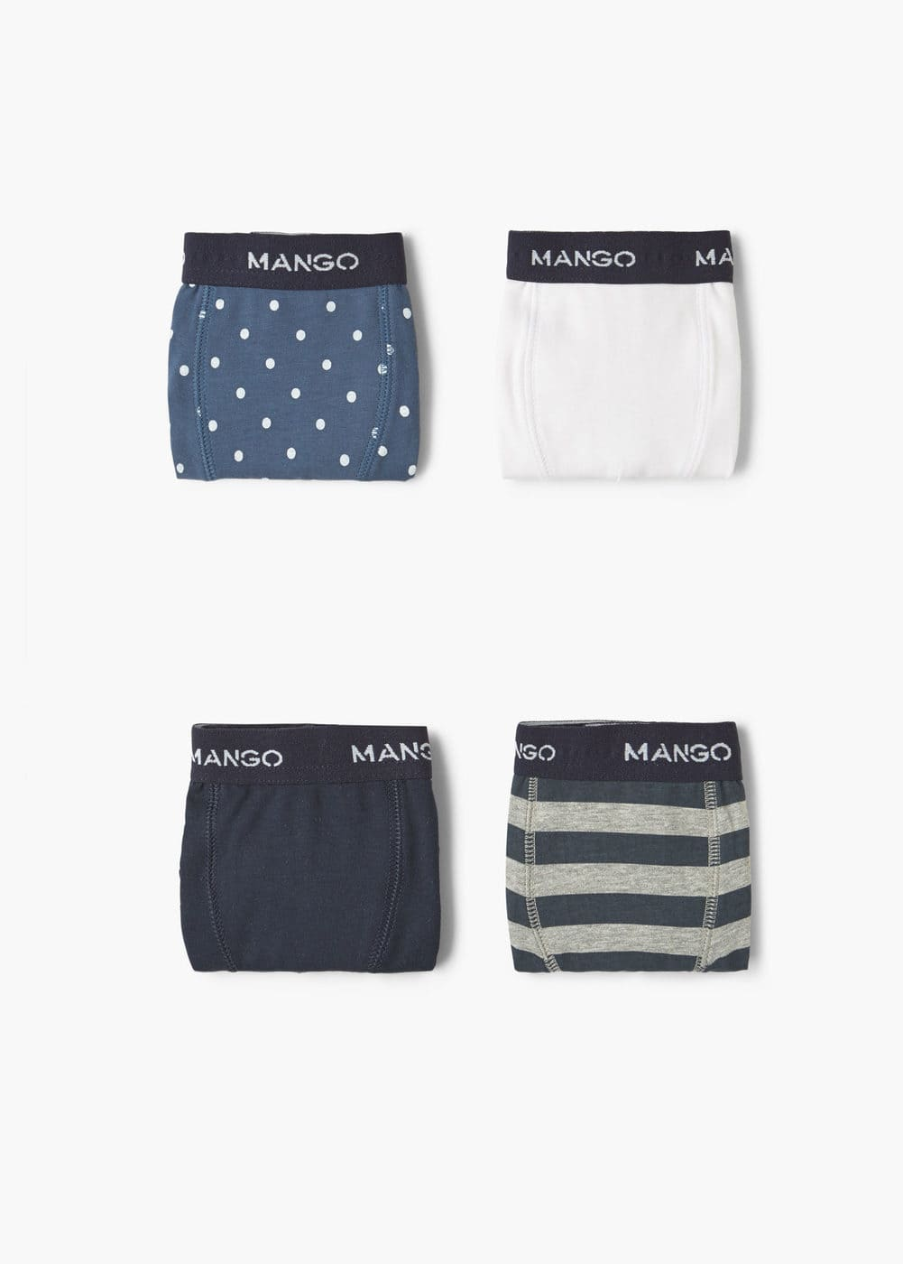 Mixed 4 boxer pack | MANGO