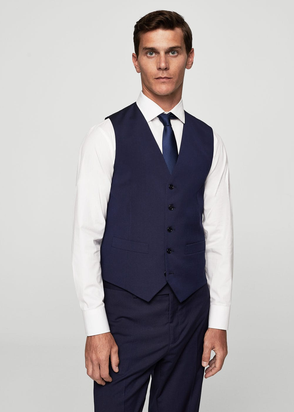 Slim-fit suit gilet | MANGO