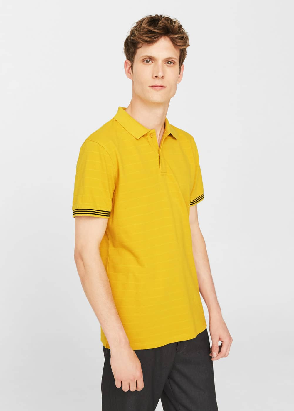 Polo slim-fit cotone | MANGO MAN