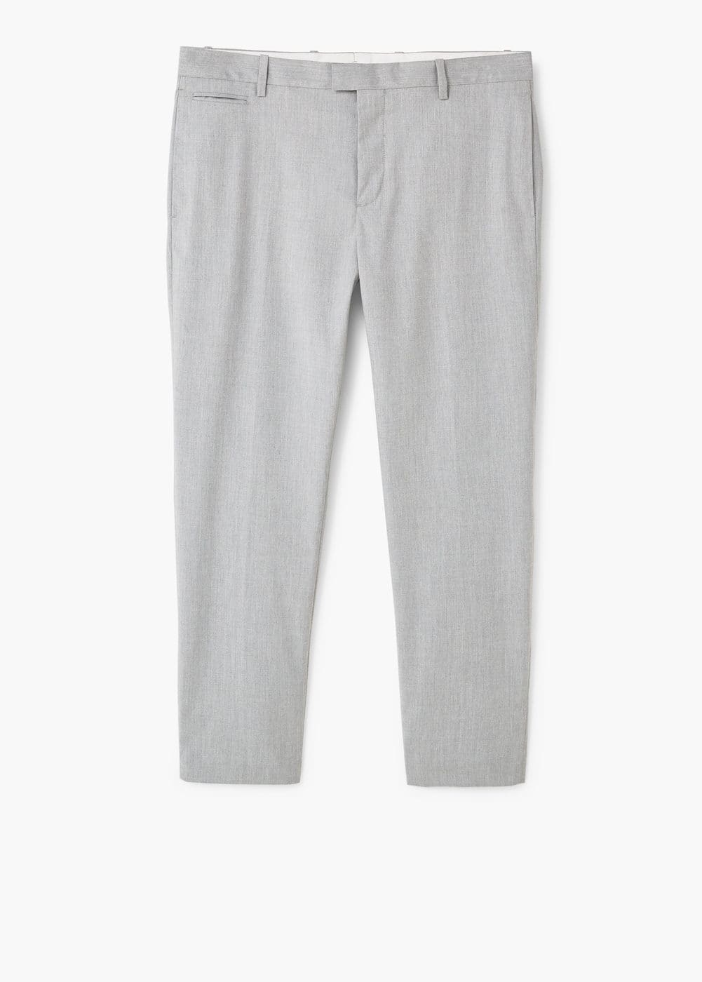 Slim-fit patterned trousers | MANGO MAN