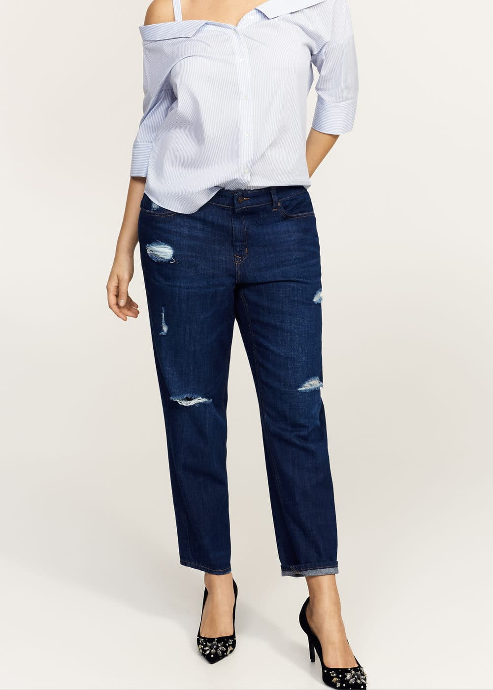 Girlfriend jeans claudia | VIOLETA BY MANGO