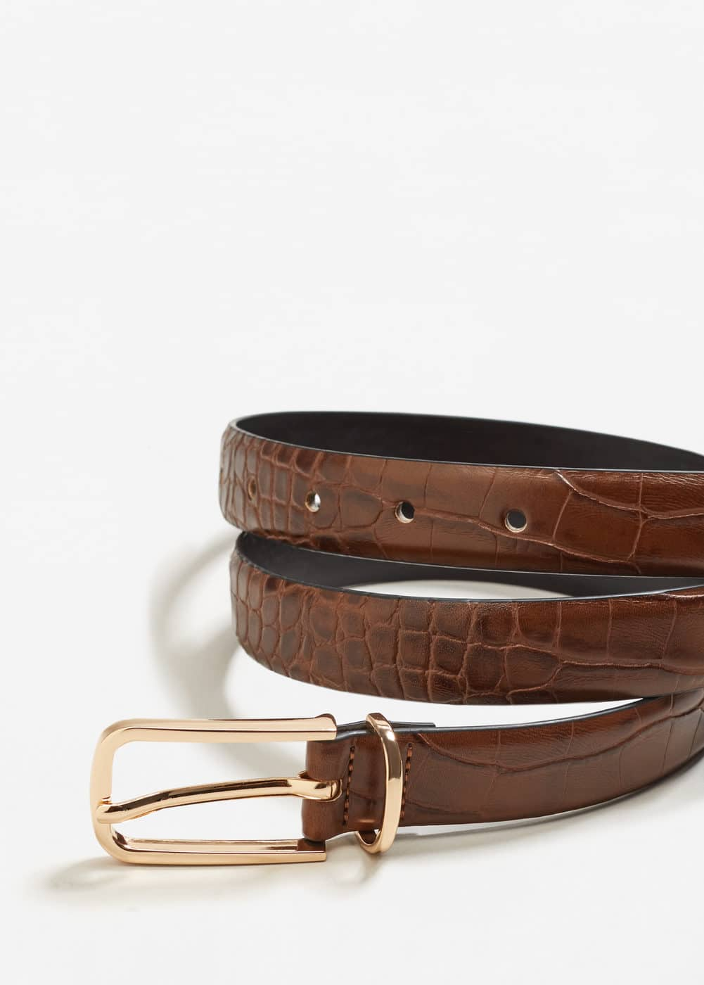 Crocodile effect belt | MNG