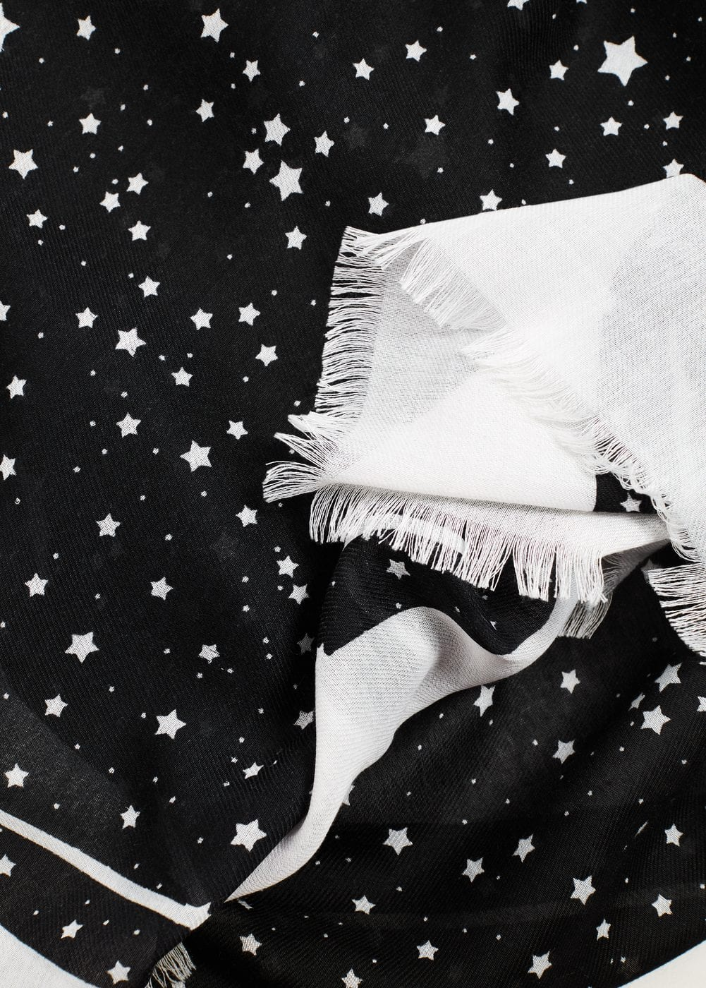 Star print scarf | MNG