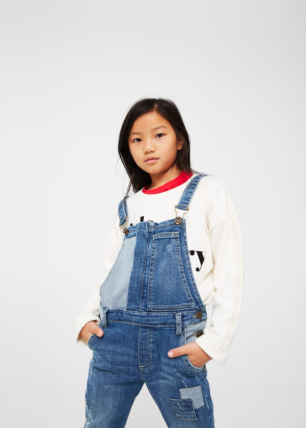 Combined long dungarees | MANGO