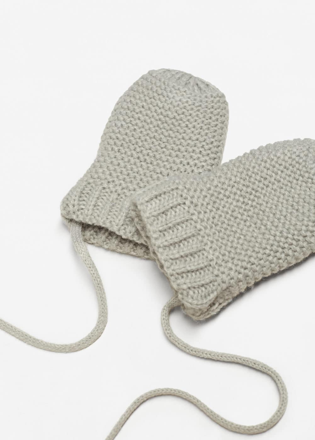 Cable-knit mitten | MANGO KIDS
