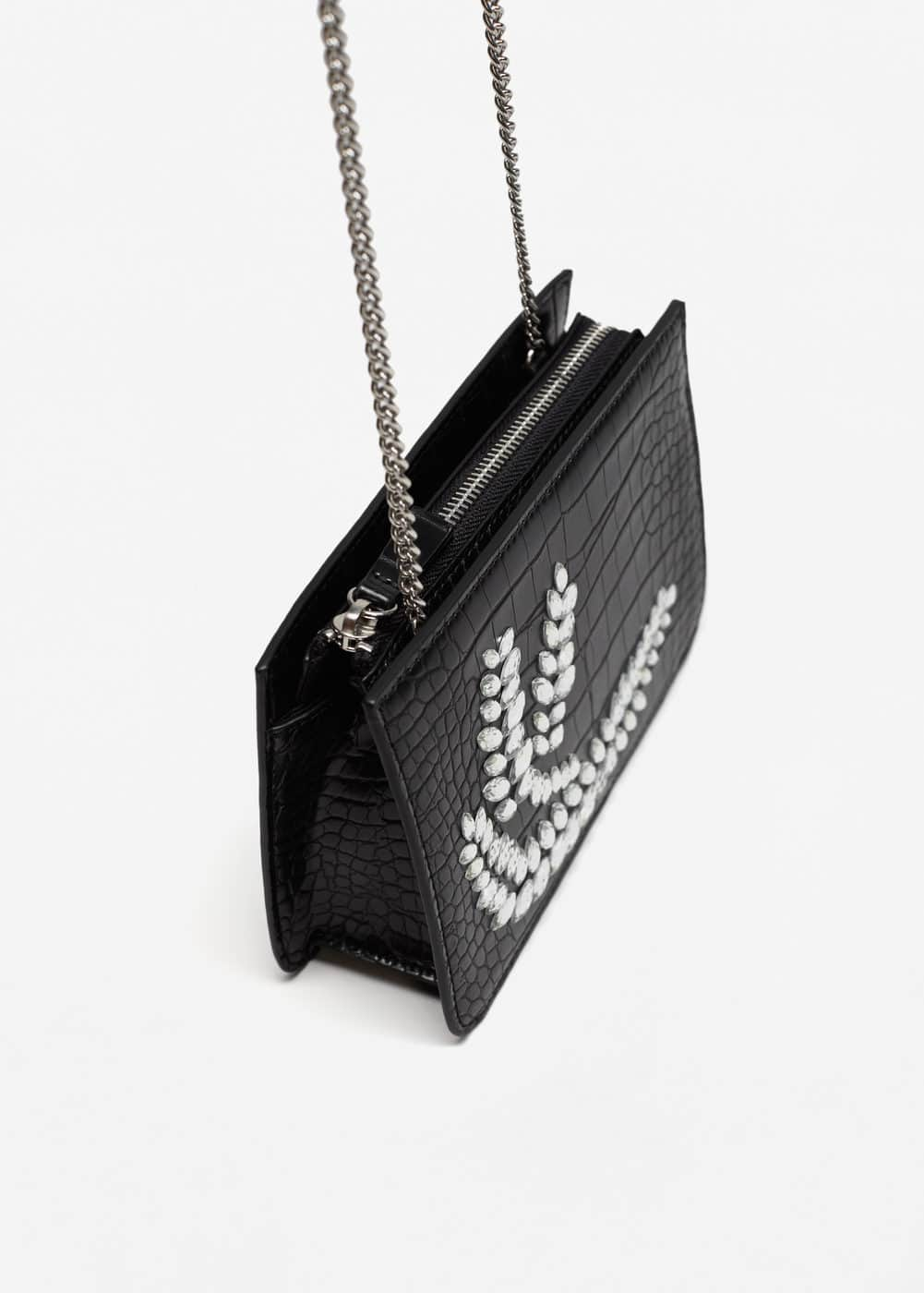 Chain bead bag | MANGO
