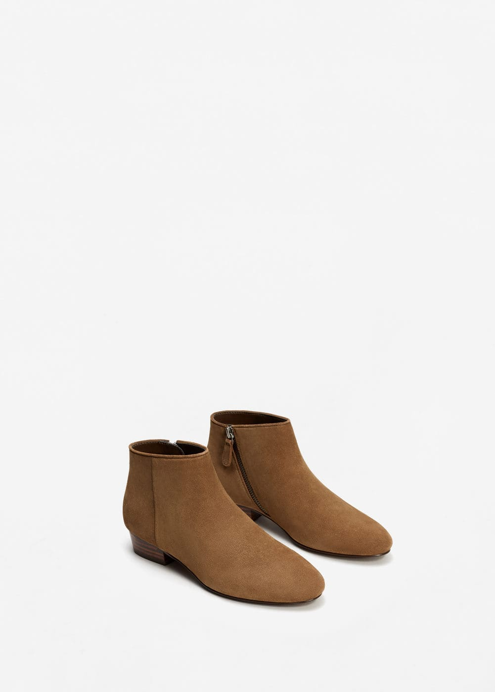 Suede ankle boots | MNG