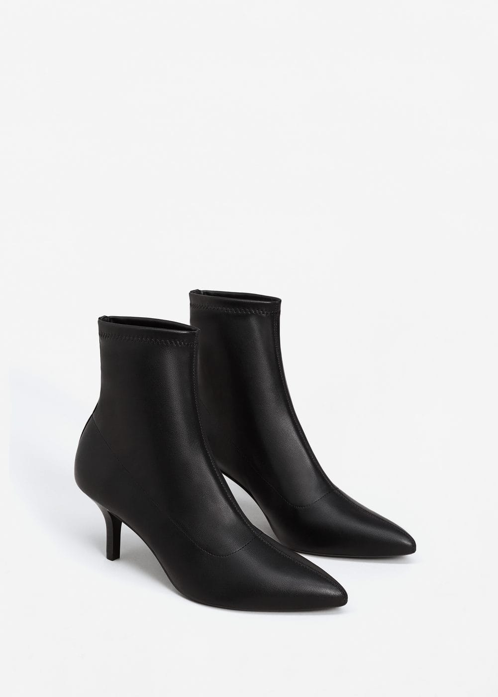 Pointed heel ankle boot | MANGO