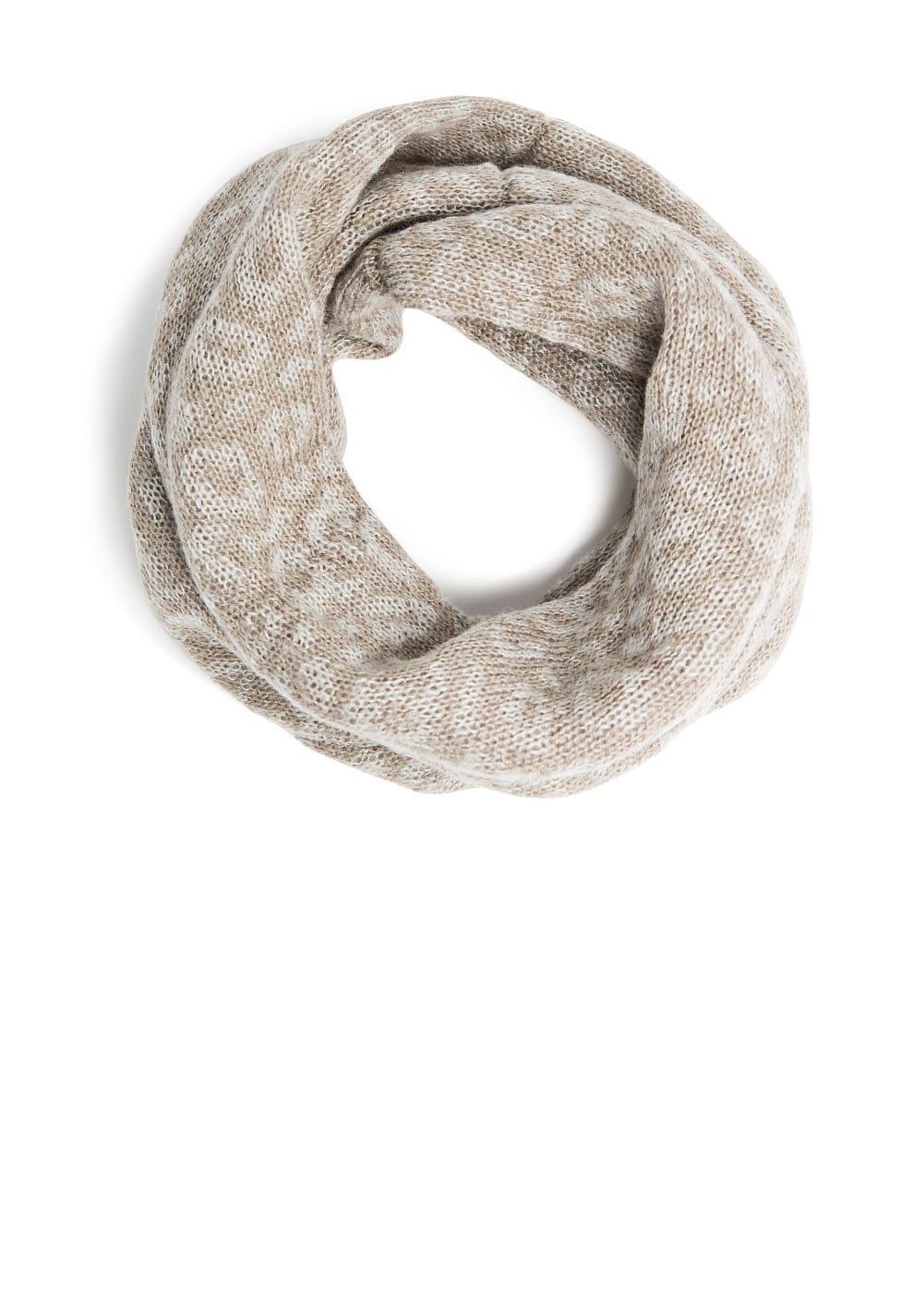 Knit snood | MANGO