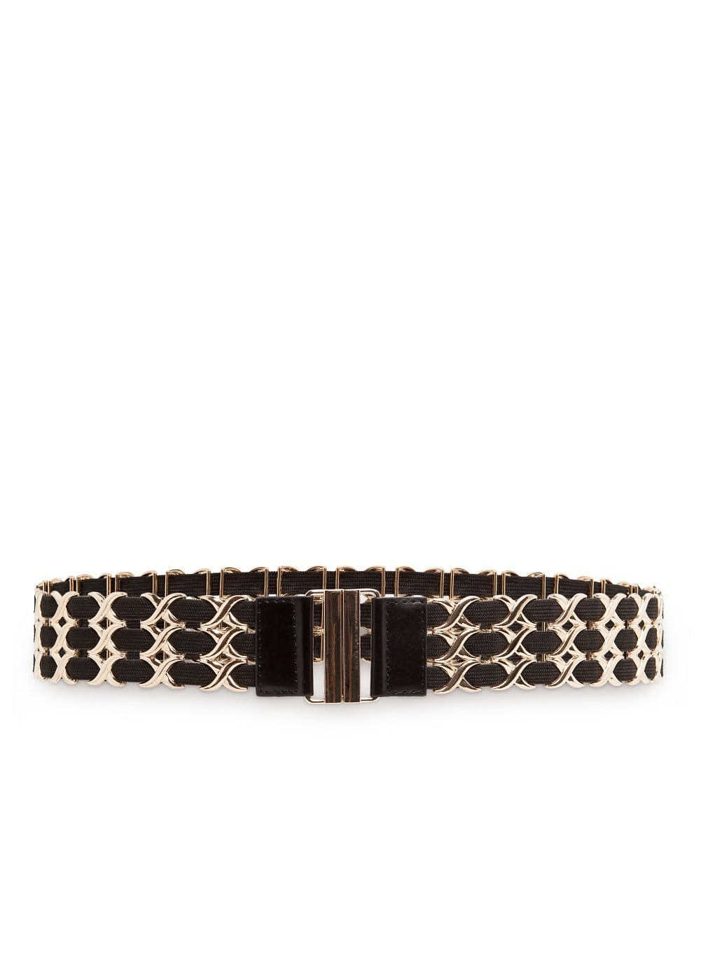 Interwoven rings waist belt | MANGO